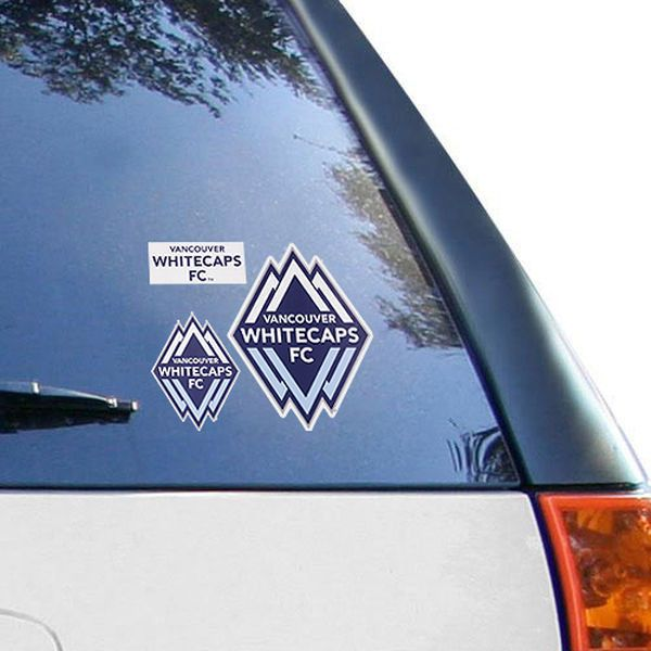 "Vancouver Whitecaps FC 12"" x 12"" Decal Multi-Pack"