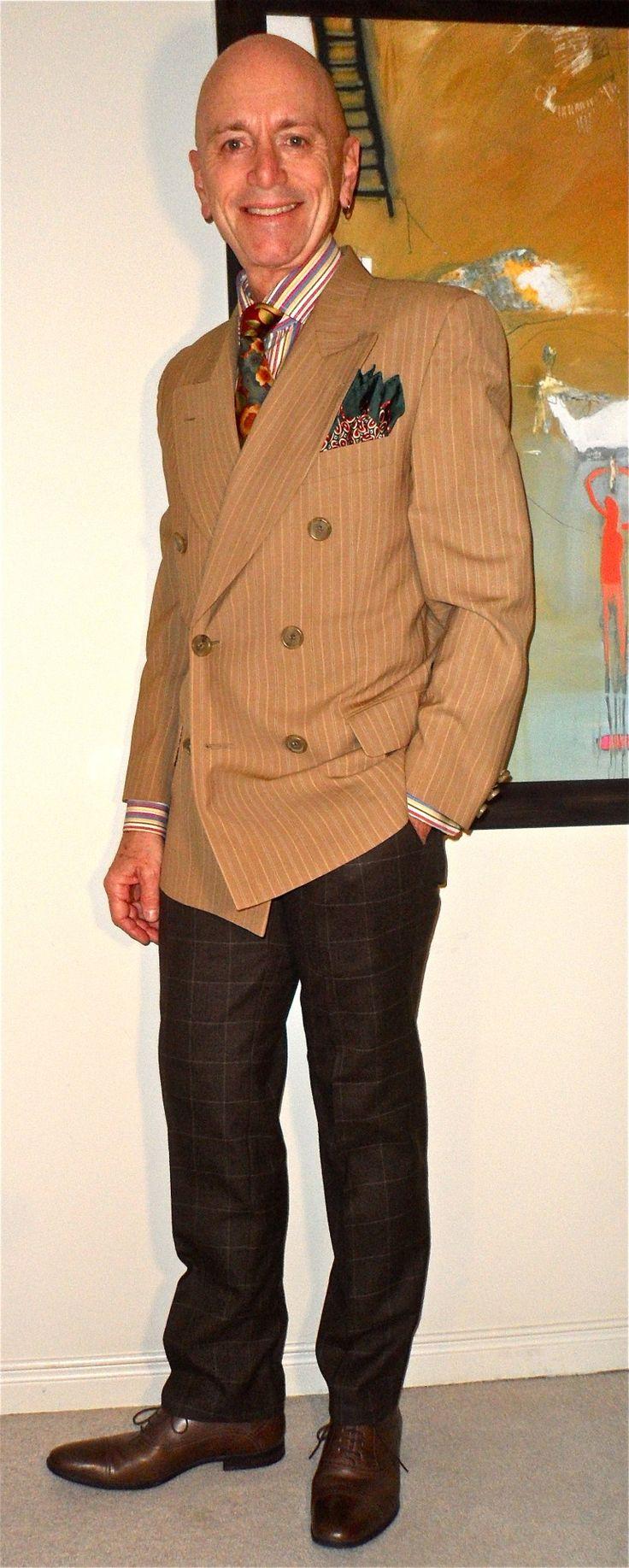 Dolce & Gabbana DB blazer, Paul Smith shirt, Veneziani tie, Black & Brown 1826 pants, Tiger of Sweden Shoes