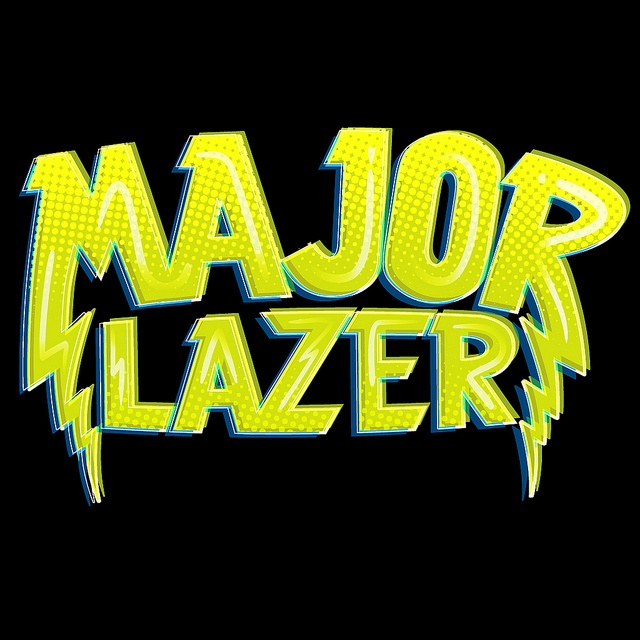 Major Lazer - Remixed Logo Detail