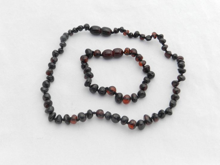 Amber Teething Necklace and Bracelet Set Baltic Amber Pain Relief Choose your color by LifeCirclesNecklaces on Etsy https://www.etsy.com/listing/498173731/amber-teething-necklace-and-bracelet-set