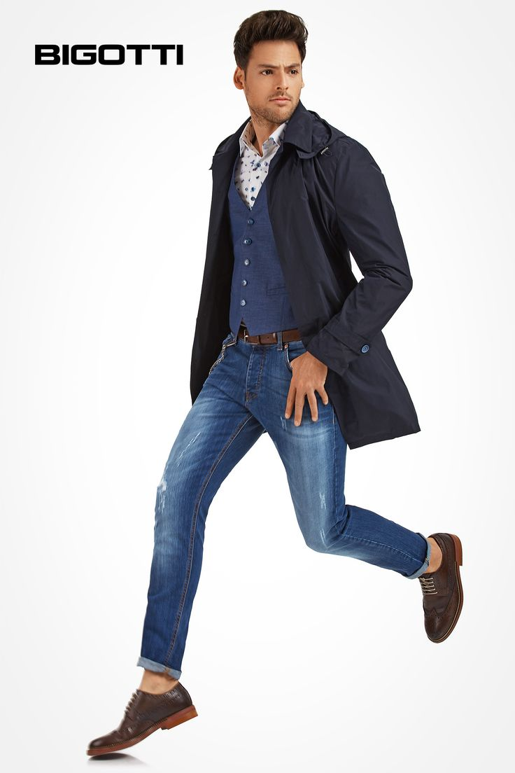 The #Bigotti #raincoat can be #worn #both #smart & #casually  www.bigotti.ro  #Bigottiromania #followus #ootd #ootdmen #mensfashion #menswear #mensclothing #mensstyle #moda #barbati #impermeabile #waterproof #outerwear #stylish #trendy #cool #inspiration #newcollection #nouacolectie