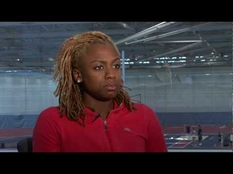 ▶ Jamaican Runner Dominique Blake- Living Through Adversity - YouTube
