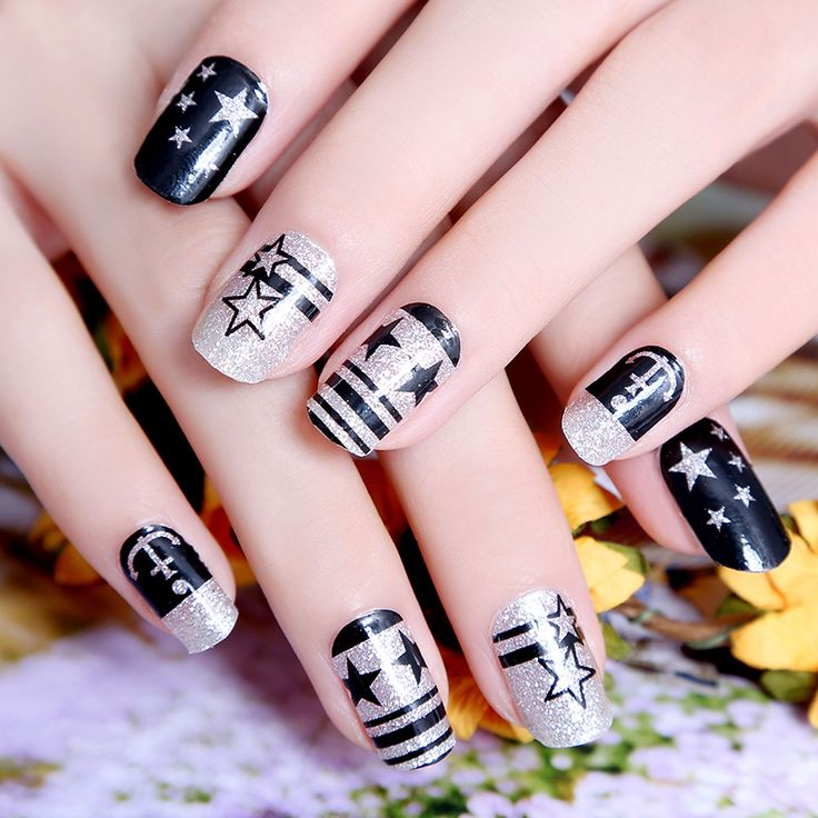 19 best like images on Pinterest | Nail wraps, Manicure and Nail decals