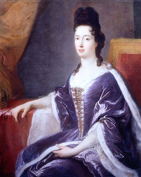 Mary of Modena  5 October  1658 – 7 May 1718) was Queen consort of England, Scotland and Ireland as the second wife of King James II and VII. A devout Catholic, Mary became, in 1673, the second wife of James, Duke of York, who later succeeded his older brother Charles II as King James II.
