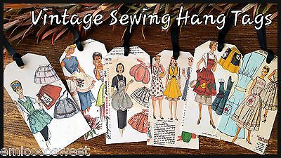6xGift Favour Tags Wedding Favour Party Thank you,Retro Card Making,Scrapbooking