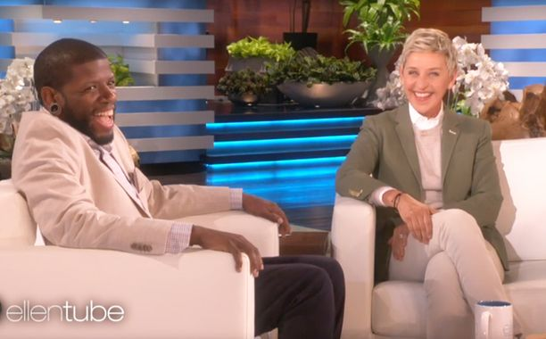 Grab a box of tissues.Ellen DeGeneres has made a heartfelt plea on behalf of 32-year-old comedian Quincy Jones, who shared his moving story on...