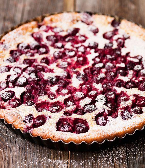 Cherry-/Apple-/Fruitcakes ! Easy German Recipes  Kirschkuchen (einfache Rezepte)