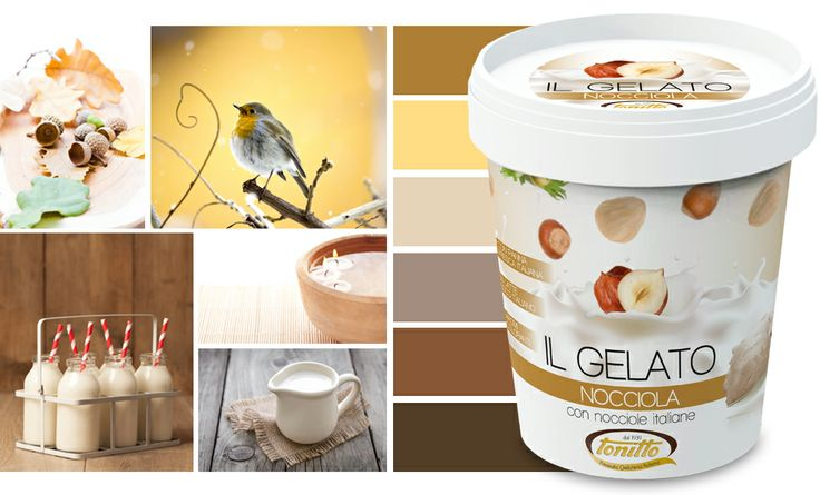 """""""Il Gelato"""" gusto Nocciola - il gelato con latte e panna freschi italiani - by Tonitto"""