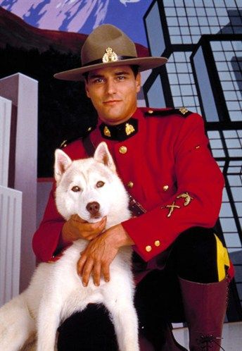Due South- no mountie will ever be as awesome as Benton.