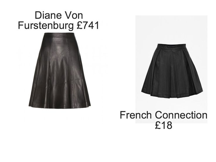 Leather skirt. This is on sale at French Connection right now! Was £60.