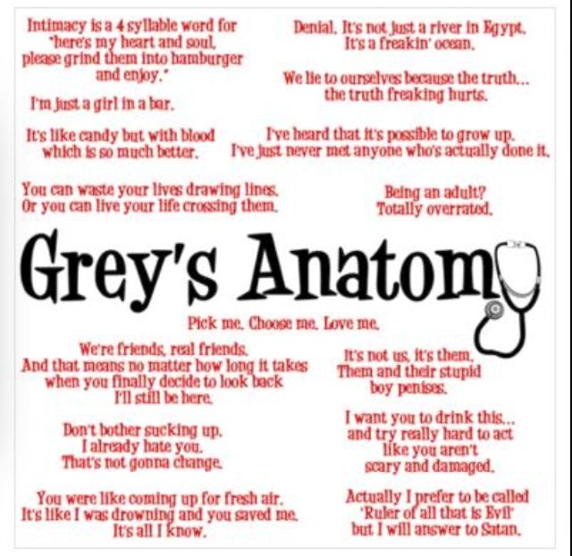Best 50+ Grey\'s Anatomy images on Pinterest | Grey anatomy quotes ...