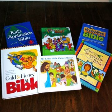 Free Childrens Bible Lessons - for Class, Church or Family
