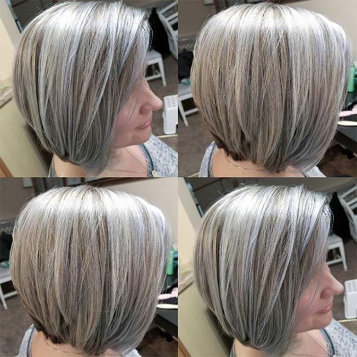 kurze Frisuren für Frauen Über 60 Gray # besthairstylesforwomenover50   – Hairstyles for Women over 50 – #besthairstylesforwomenover50 #Frauen #Fris…