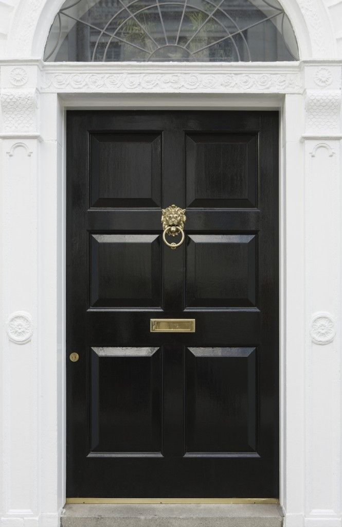 Good 27 Pictures Of Black Front Doors