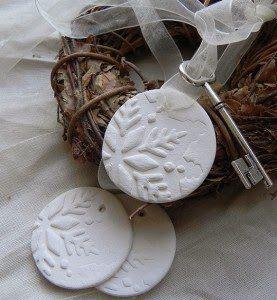 Hófehér (porcelán) gyurma recept | A napfény illata