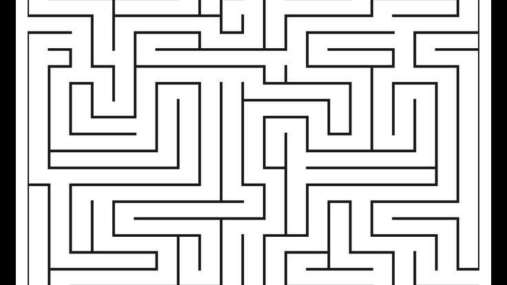 Maze - Adobe Illustrator cs6 tutorial. How to draw labyrinth in really e...