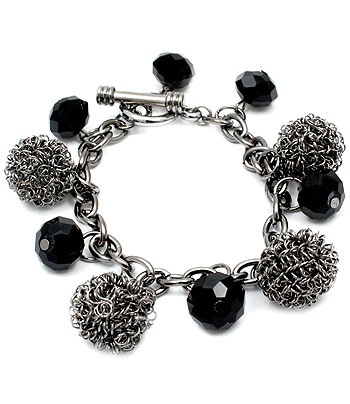 Toggle Charm Bracelet