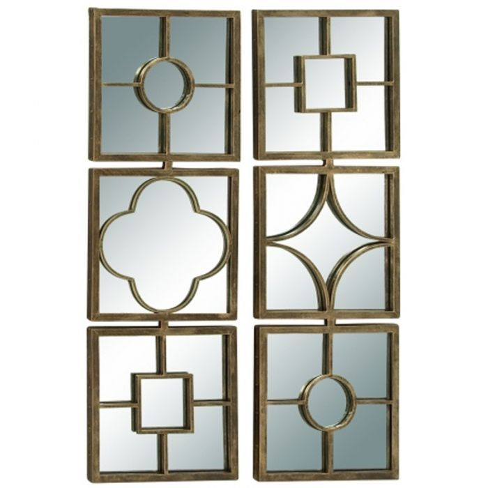 A Gold Geometric Lattice Pattern Adds A Unique Flair To Wall Mirrors Claudia Gold Metal Lattice Mirror Wall Decor Mirror Wall Decor Mirror Wall Mirror Pattern