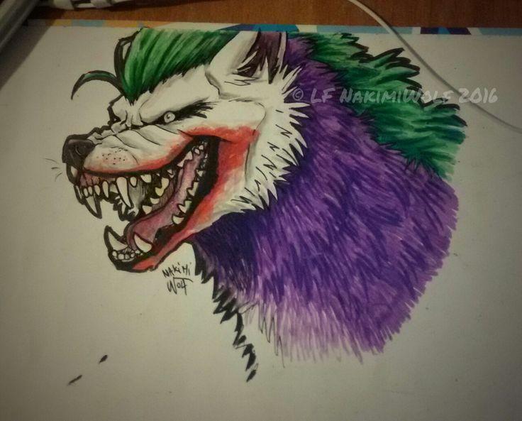 Wolf Joker! ❤ 🃏 Follow me on: —> deviantart ; —> facebook ;