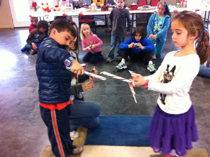 """""""Candy Cane Pass"""" is a fun team building activity for kids. We played this at Camptivity Day Camp in Fort Worth, Tx."""