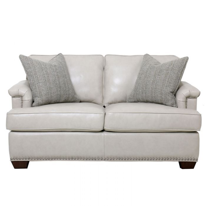 A Cream Color Is An Unconventional Look For A Leather Loveseat But It S A Welcome Update To Your Living Room With Love Seat Leather Loveseat Top Grain Leather What is a love seat
