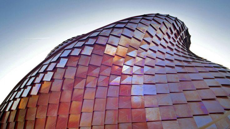 Dal vivo è ancora più bello, a #Expo2015 grazie alle nostre lastre Fractile e al design di Daniel Libeskind.