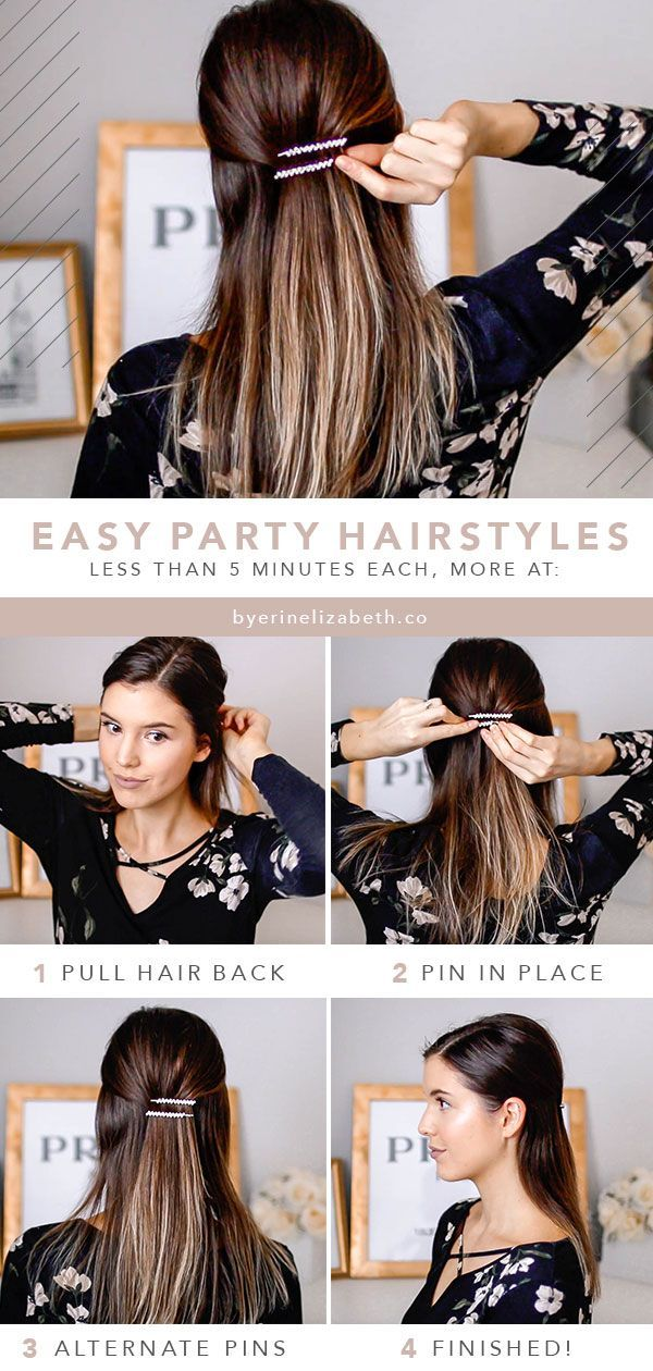 The Easiest Holiday Hairstyles For Your Parties Medium Length Hair Styles Holiday Hairstyles Easy Medium Hair Styles