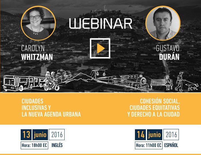 Cohesión Social y Ciudades Inclusivas - Hábitat III Quito Ecuador