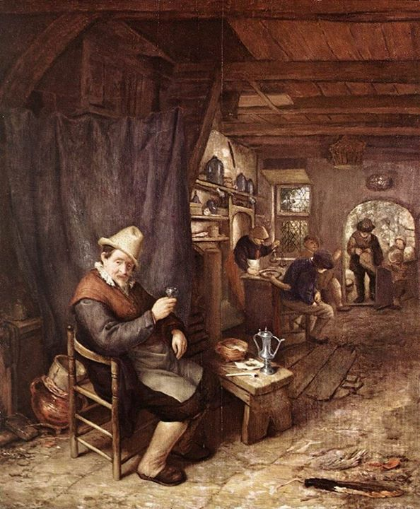 Adriaen van Ostade (1610-1685) http://ift.tt/19ENe2b
