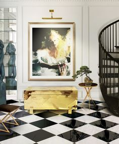 Home decor ideas for entryway - It is a true celebration of luxury decoration for modern home décor.