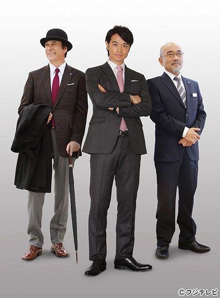 (左から)竹中直人、斎藤工、竹中直人