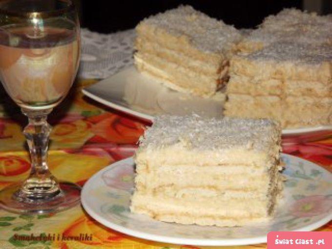 Ciasto Rafaello - Swiatciast.pl