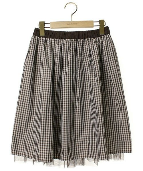 【ZOZOTOWN】JILL by JILLSTUART(ジル バイ ジルスチュアート)のブランド古着「チェック柄フレアスカート」(スカート)を購入できます。