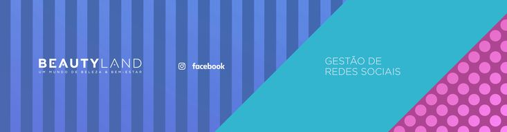 Projeto de Gestão de Redes Sociais Facebook e Instagram para a marca Beautyland ® com a inserção de conteúdos de imagens, gifs animados, motion graphics e...