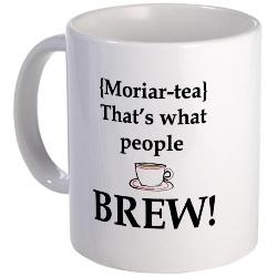 Moriar-tea Sherlock Mug by CafePress