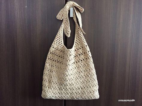 【編み図】3Wayのぺたんこバッグ – かぎ針編みの無料編み図 Atelier *mati*