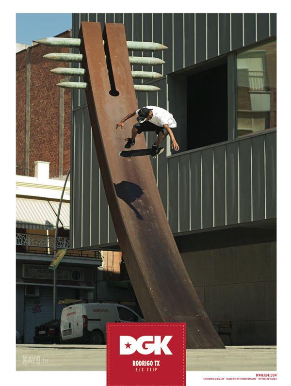 #Rodrigo TX – #DGK Ad for October 2013 SBC Skateboard Mag #skateboard #ad