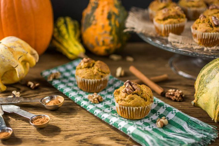 Healthy, delicious, moist and fluffy these Vegan Pumpkin Muffins are a must bake fall dessert or snack. Easy to make and totally guilt free.