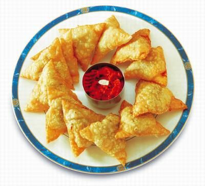 Chicken Samosa Recipe - Pakistani Appetizer - Fauzia's Pakistani Recipes - The Extraordinary Taste Of Pakistan