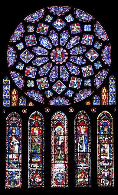 Witraż Katedra Chartres