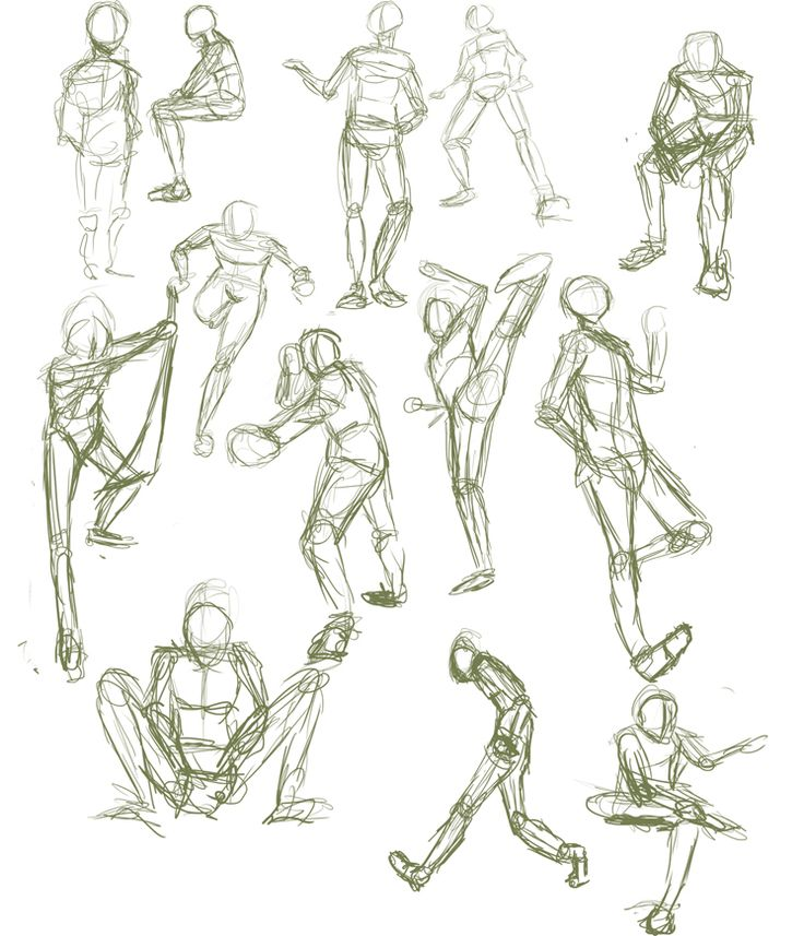 41 best ideas about poses humans on pinterest group for Body movement drawing