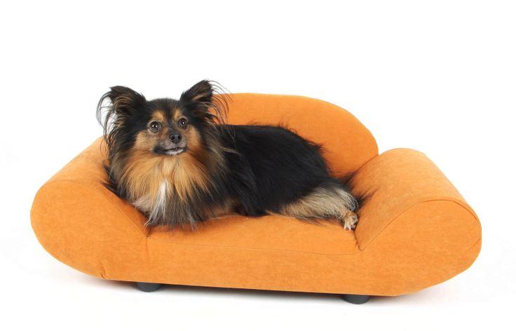 Petbed Milo - luxusní pelíšek pro psy ve tvaru komfortního křesílka se zvýšenými okraji