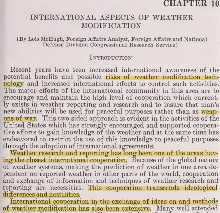 Revealed - US Senate Document On National And Global Weather Modification - US Senate Committee On Commerce, Science and Transportation 9