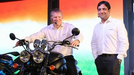 Triumph Motorcycles India launch gallery