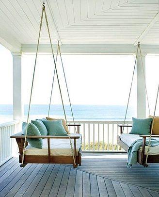 I love porch swings.