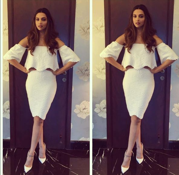 Deepika Padukone Slays in an All White Outfit! | PINKVILLA