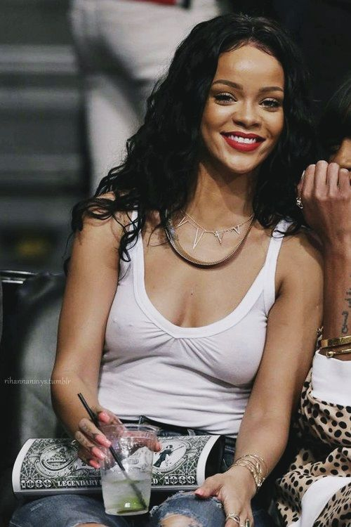 Rihanna  Rihanna Hot  Rihanna, Tops, Nipple Rings-4205