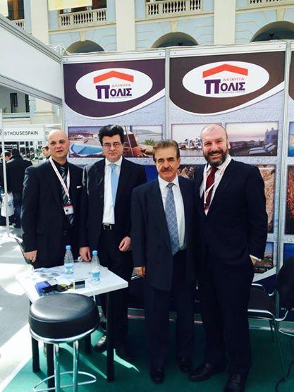 Ο Εμπορικός Ακόλουθος της Πρεσβείας μας κος Θανασάς μαζί με τον κο Λιόντο επισκέπτονται το περίπτερο μας. Ευχαριστούμε για την στήριξη στην Ελληνική επιχειρηματικότητα!