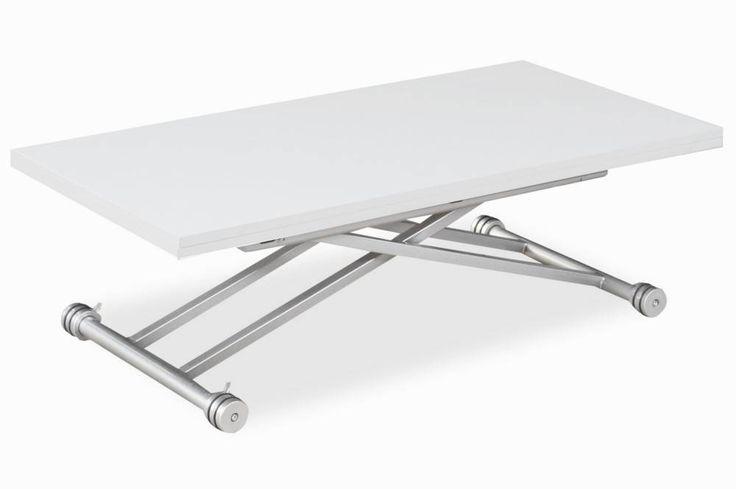 Les 25 meilleures id es de la cat gorie table basse convertible sur pinterest - Petite table relevable ...