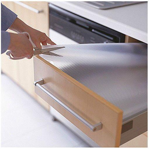 "Ikea Drawer Mat 59X19"" Shelf Liner Cabinet Storage Pad Kitchen Rationell Variera"